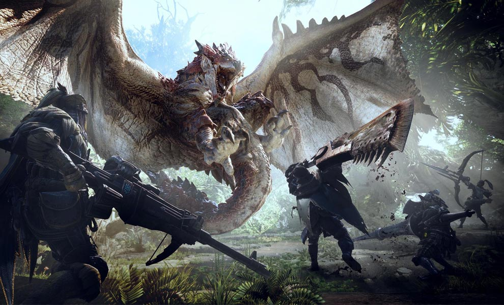 PC verze Monster Hunter: World láme rekordy