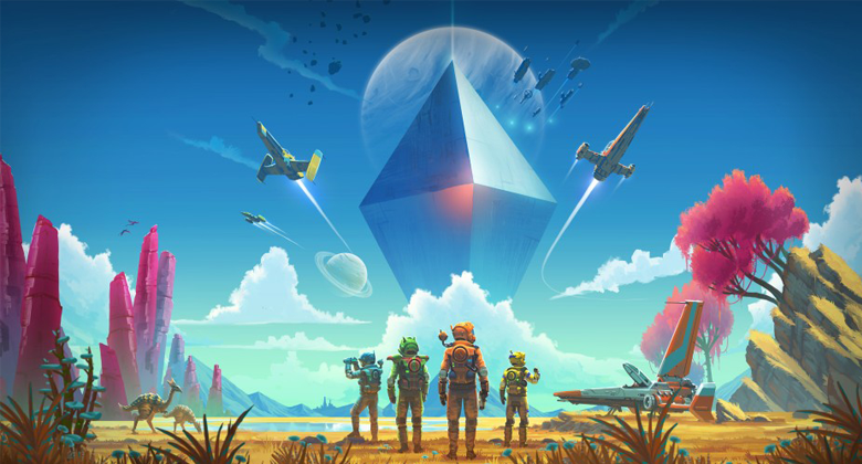 Nový trailer láká na update No Man's Sky