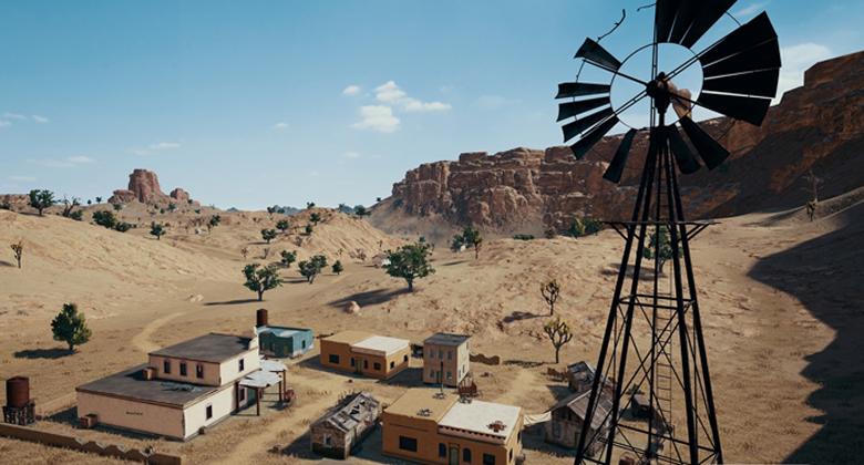 Nová mapa v PUBG na XboxOne