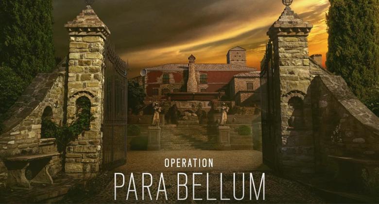 Para Bellum pro Raibow Six Siege vyjdebrzy