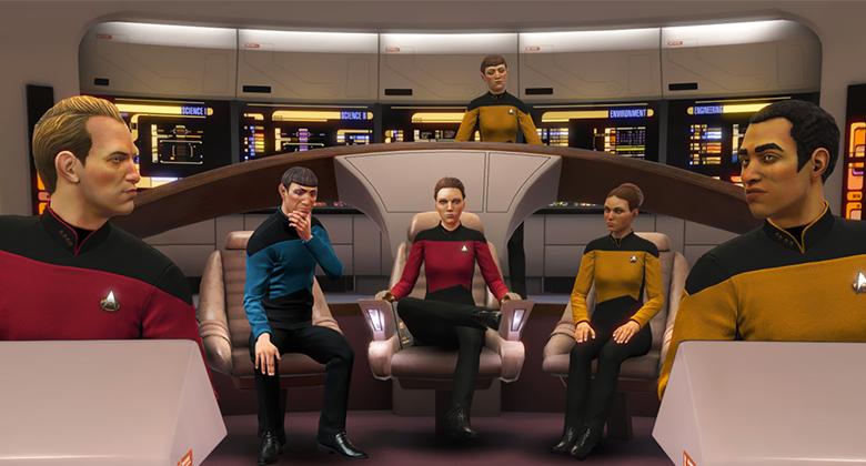 DLC k Star Trek: Bridge Crew přinese NovouGeneraci