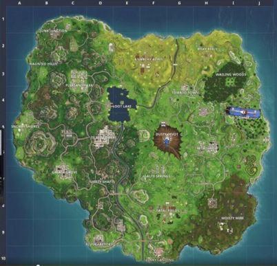fortnite nova mapa