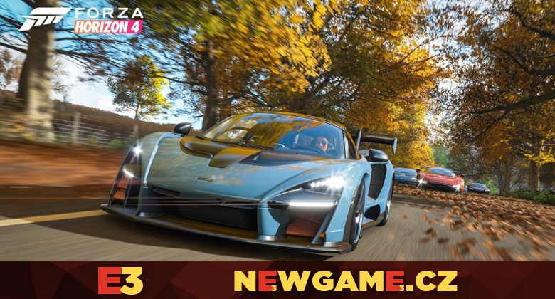 Forza Horizon 4 vyjde v říjnu, podíváme se doBritánie