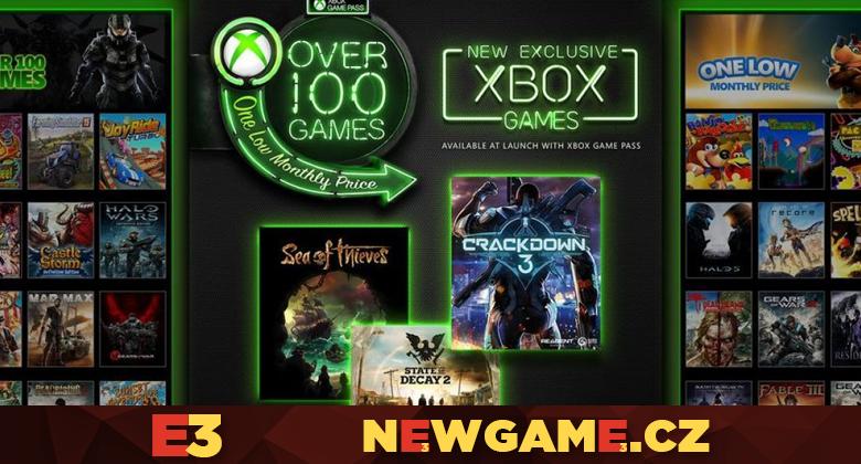 Game Pass dostane nové hry a časem i novinky hned přivydání