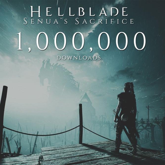 hellblade one milion