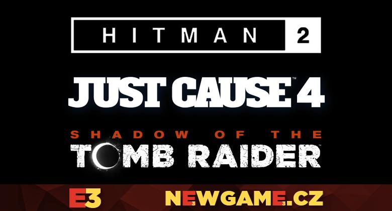 Hitman 2, Just Cause 4 a Shadow of the Tomb Raider v prvních demoukázkách