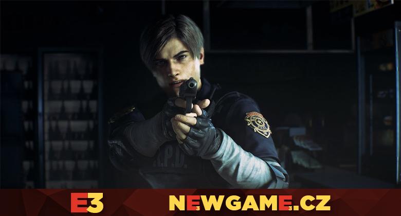 Remake Resident Evil 2 v prvních gameplayukázkách