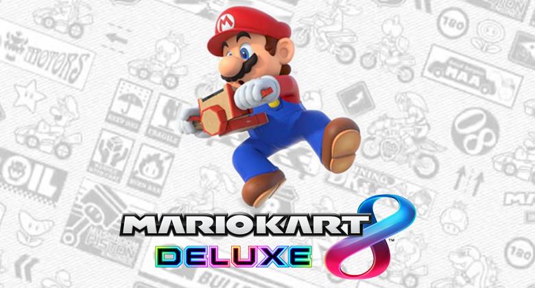 Nintendo Labo nyní podporuje Mario Kart 8Deluxe