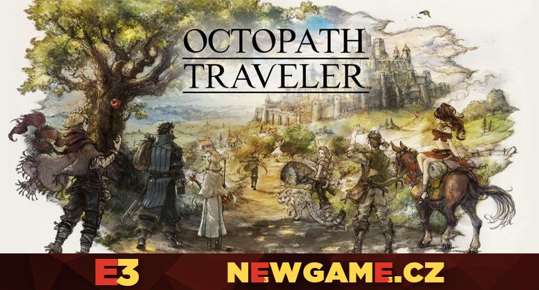 Tahové RPG Octopath Traveler vyjde už včervenci