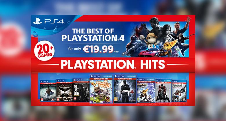 V kolekci PlayStation Hits seženeme oblíbené hry zapětistovku