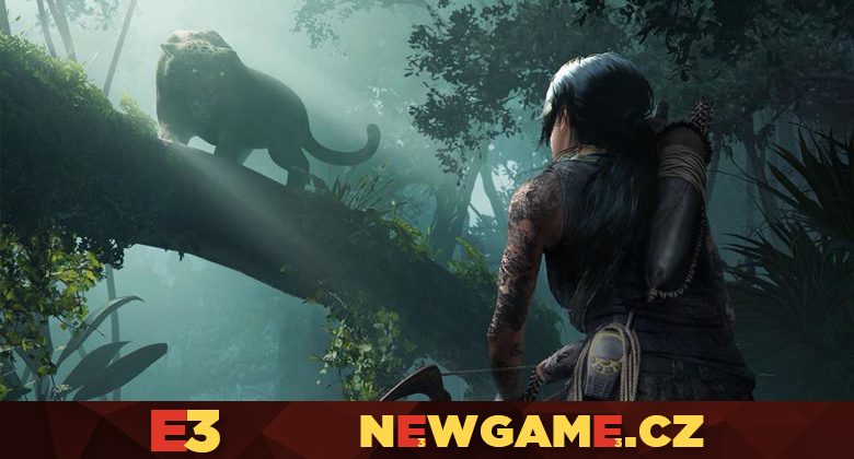 Lara v novém gameplay traileru splyne sdžunglí