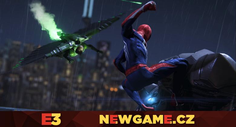 Spider-Man konečně v gameplayukázce