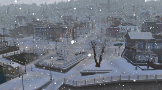 ts4 seasons snowing