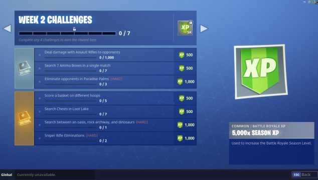 challenges season 5 week 2