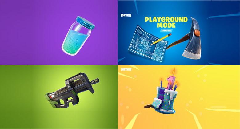 Nová zbraň, návrat Playground a spousta dalších novinek veFortnite