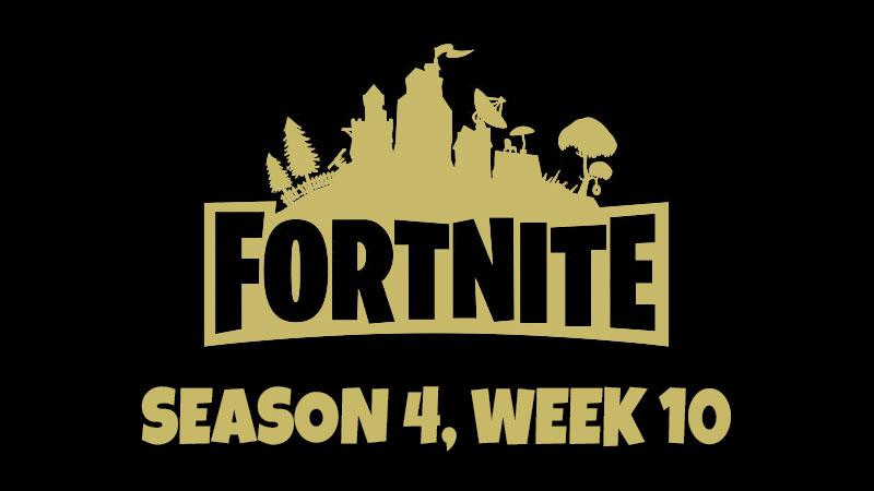 Fortnite souhrn 10. týdne 4. sezóny – Kde najdete skrytou BattleStar?
