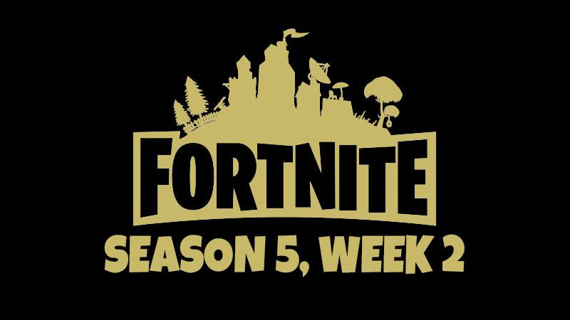 Fortnite souhrn 2. týdne 5. sezóny – Challenge a lokace Free BattleStar