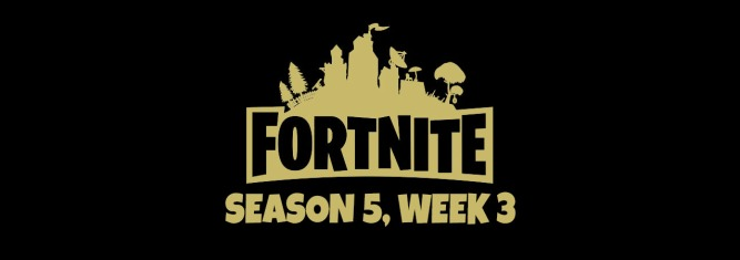 fortnite souhrn season 5 week 3 siroky