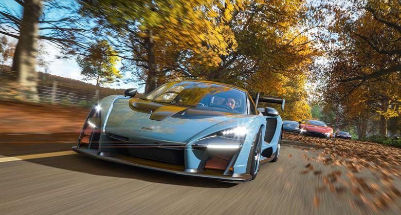 Hodina hraní z Forza Horizon 4 ukazuje rozmarypodzimu