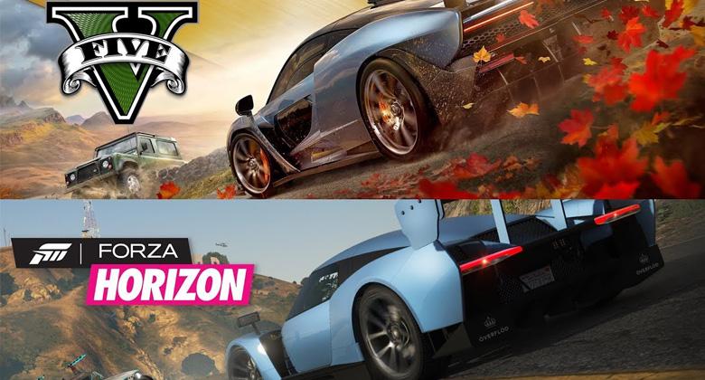 Fanoušek přetvořil trailer Forzy Horizon 4 v GTAV