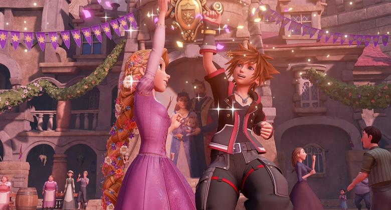 Kingdom Hearts 3 slibuje více jak 80 hodinobsahu