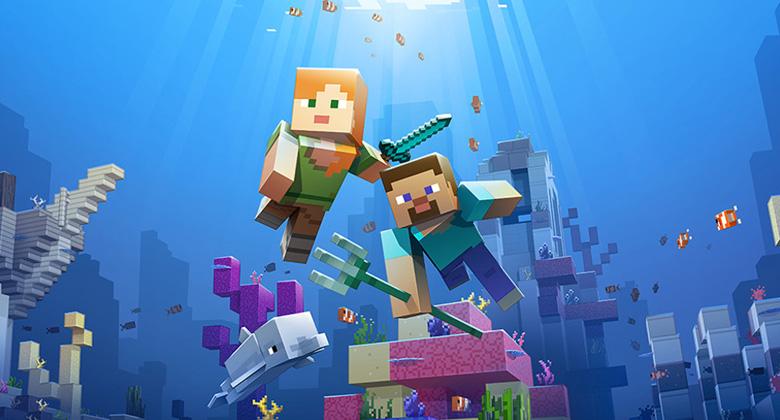 Druhá fáze velkého updatu pro Minecraft jetu