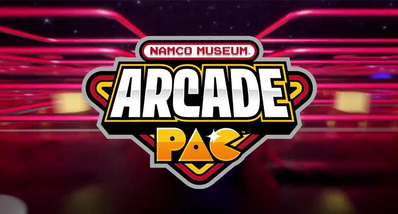 Oznámena kolekce Namco Museum ArcadePAC