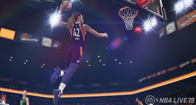 V NBA Live 19 si můžete vytvořit basketbalistku +trailer