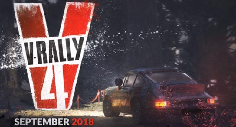 Gameplay z rally a hillclimb v chystaném V-Rally4