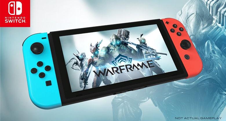 Nabídka her na Nintendo Switch se rozroste oWarframe