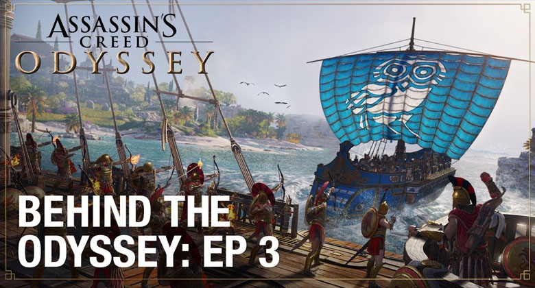 AC: Odyssey se v dalším videu věnujemořeplavbě