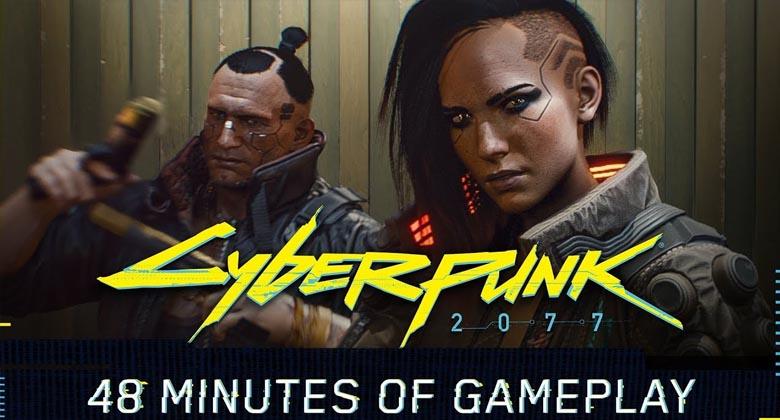 Podívejte se na první gameplay video ze hry Cyberpunk2077!