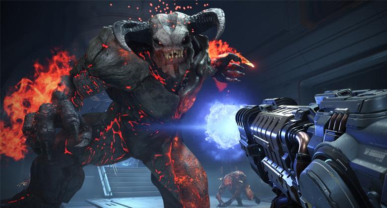 První gameplay záběry z DOOMEternal