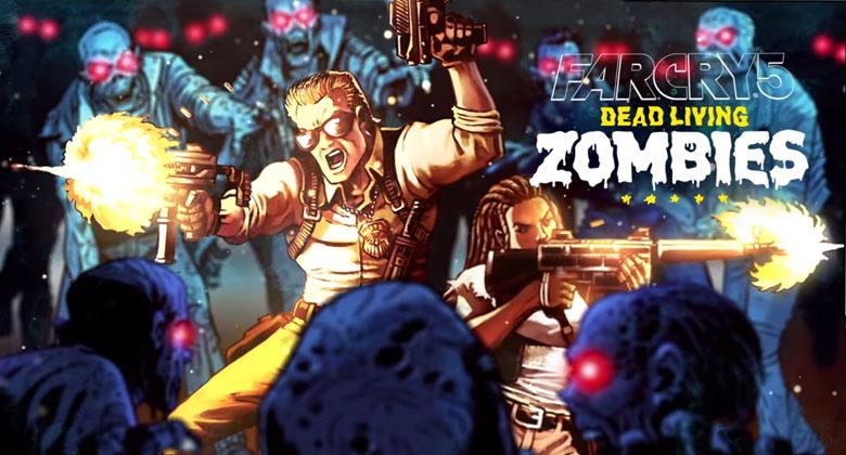 Zombíci přicházejí do Far Cry 5 v DLC. Známe datumvydání