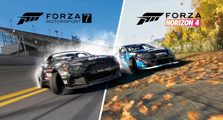 Forza Horizon 4 nabízí jako bonus balíček s driftovacímivozy