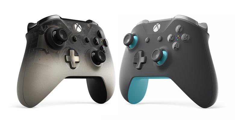 Microsoft představil dva nové ovladače pro XboxOne
