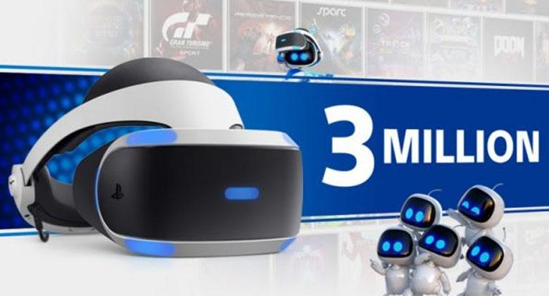 Sony oslavuje milník v prodejích PSVR