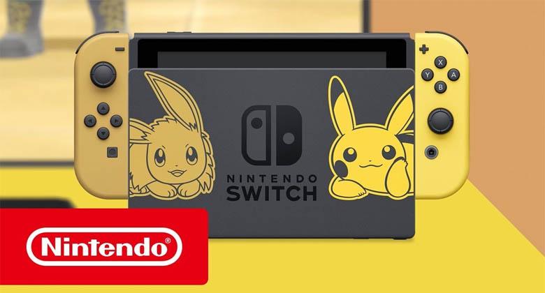 Nové bundly Ninenda Switch s tématikou Pokémon Let´sGo